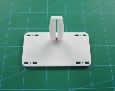 Attaching the Sensor Holder Plate