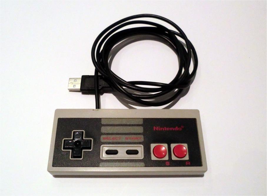 NES retro USB gamepad