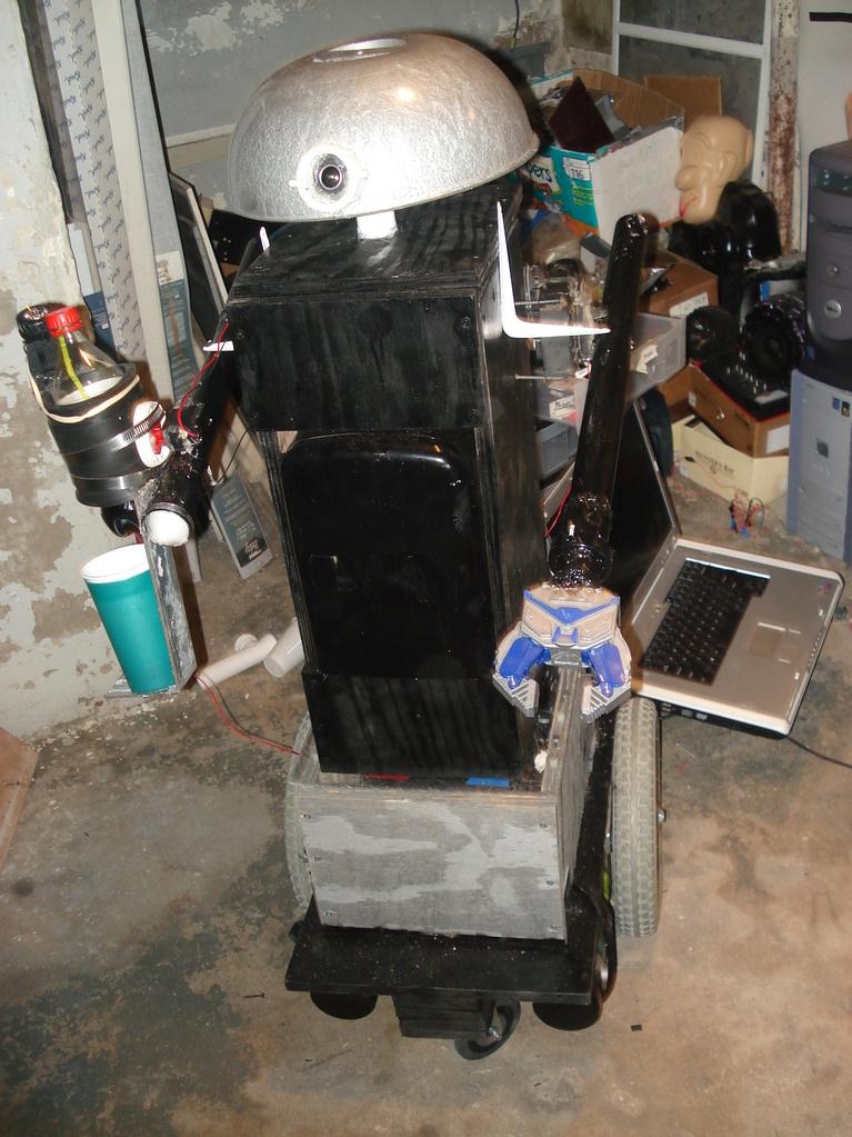 Build Your Own Butler Robot!!!  - Tutorial,Photos, and Video