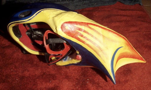 Aerodynamic Bike Helmet!