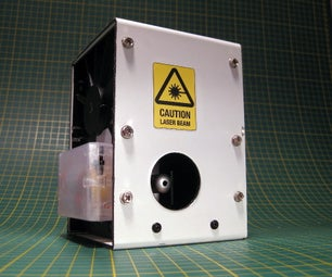 Automatic Laser Level Made From an Old Hard Disk Drive.