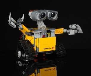 LEGO WALL-E With Micro:bit