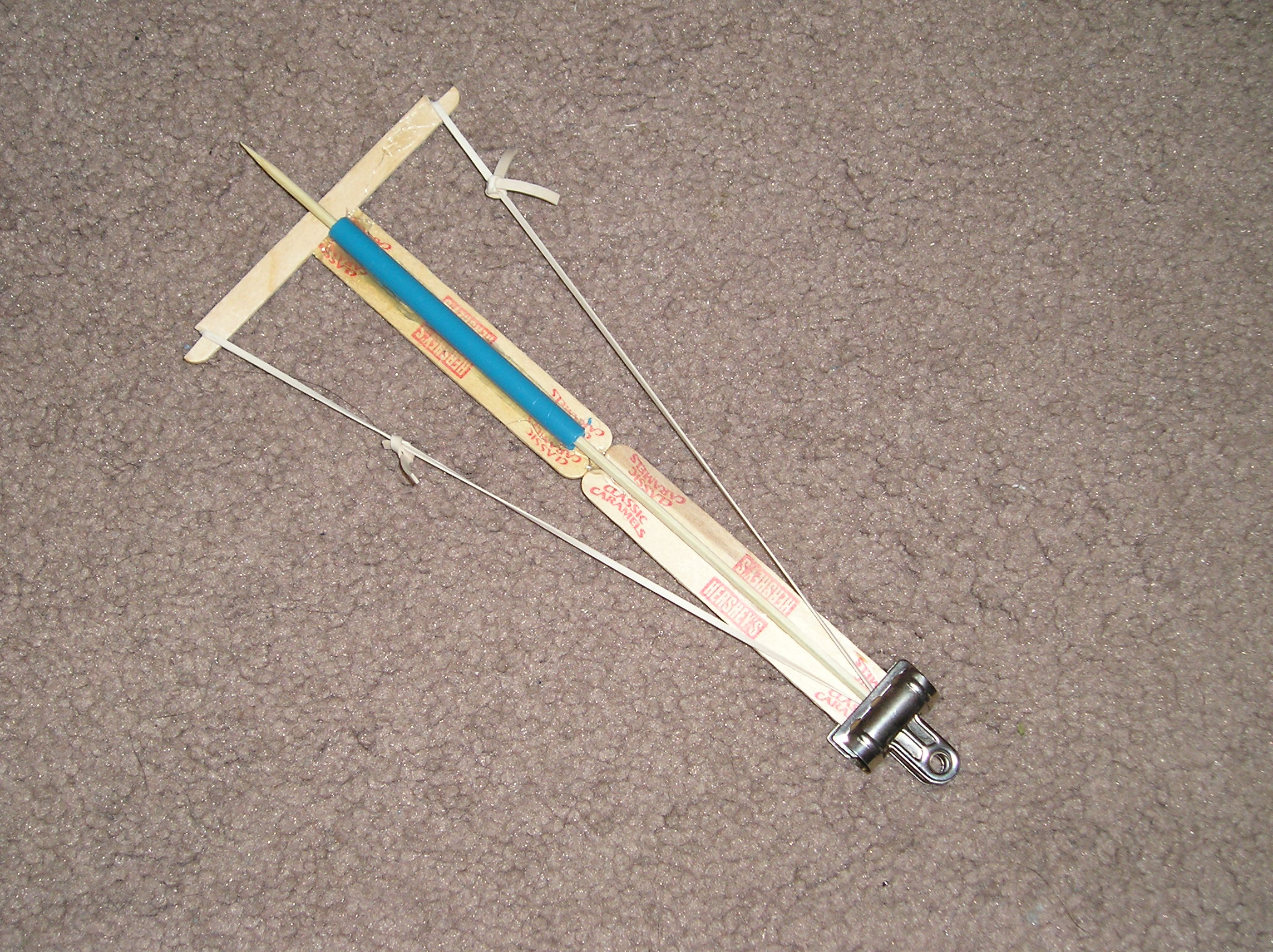 Popsicle Stick Crossbow