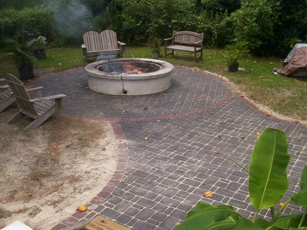 How to Relevel a Brick Patio