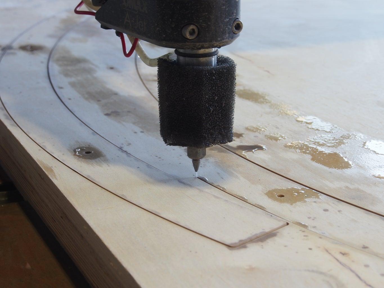Cut the Wood: Waterjet