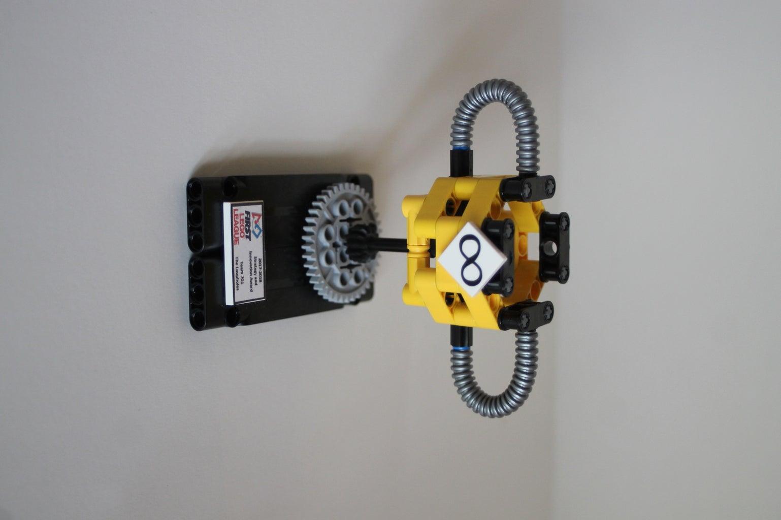 Mini First Lego League Trophy