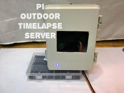 Pi Outdoor Timelapse Server