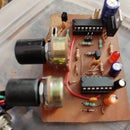 DIY Turntable and PCB Etching Shaker Circuit