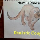 How to Draw and Color a Cougar