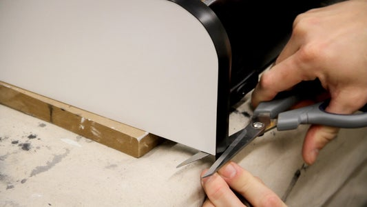 Install T-Molding