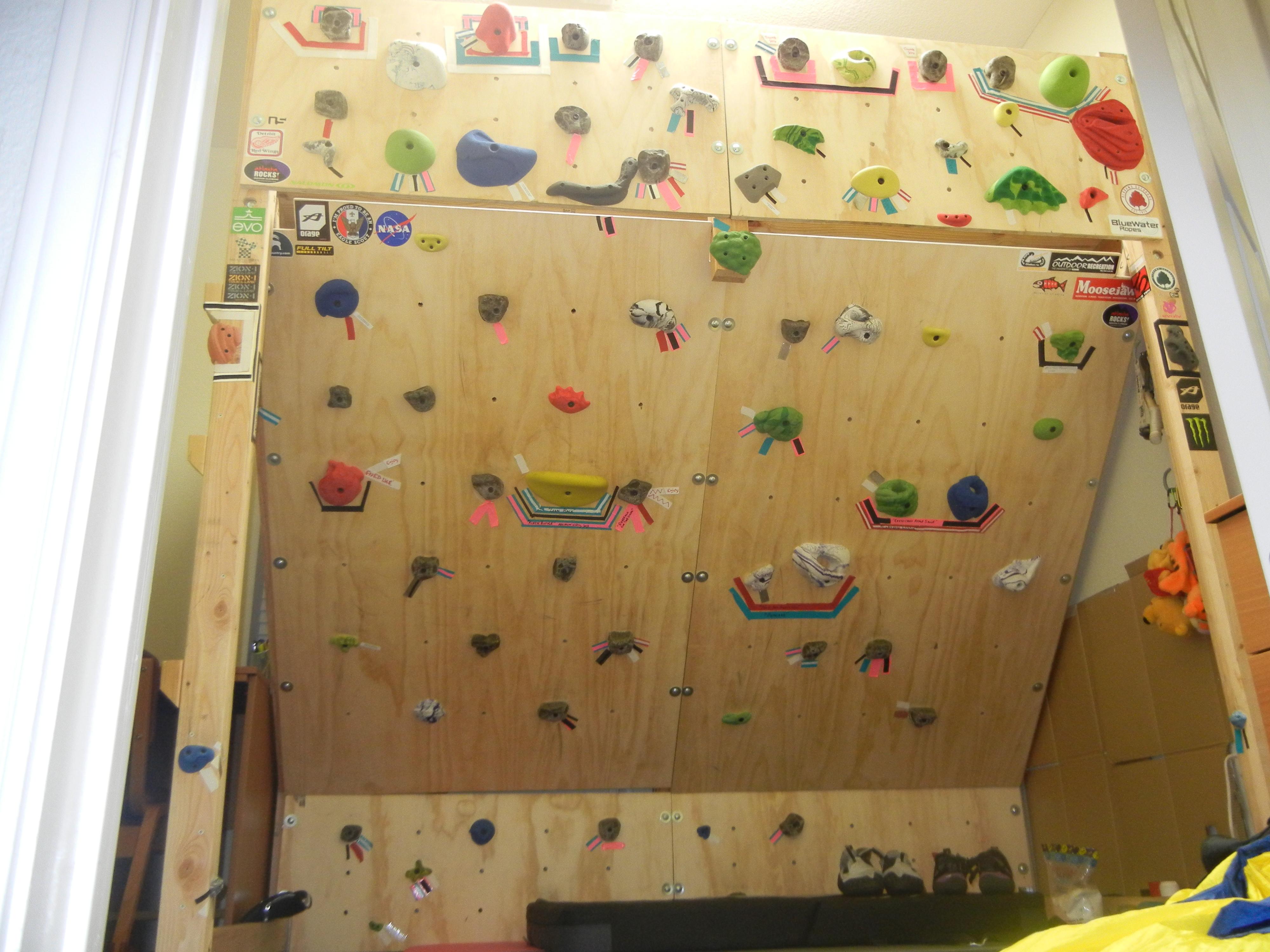 Freestanding Climbing Wall Loft Bed 11 Steps Instructables