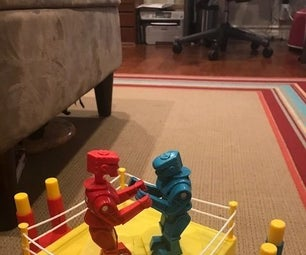 Modeling Clay Miniature Rock'em-Sock'em Robots