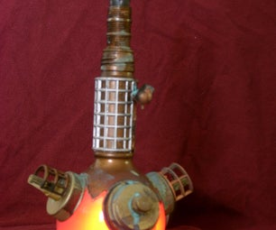 Steampunk a Bottle and Jar Into Something Extraordinary!