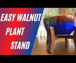 Beautiful Wood Plant Stand