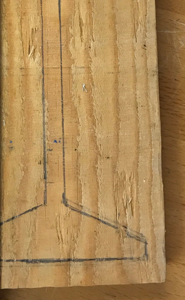 Draw the Cut Plans on Your Pieces of Wood
