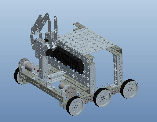FTC Robot: Wall-y