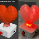 Arduino Heart Shape Light