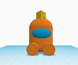 Gametoons Mr. Cheese Figurine