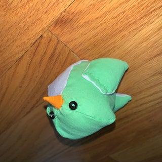 DIY Cute Plushie Bird