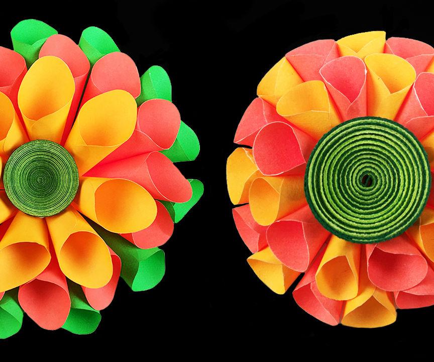 DIY Room Decor With Amazing Dahlia Flower | DIY Crafts | Home Decor Project