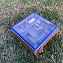 Self Contained Interchangeable Marble Maze