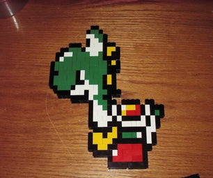 How to Make Yoshi Out of Legos
