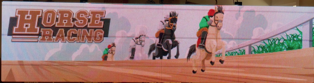 Halloween Horse Racing Arcade Game