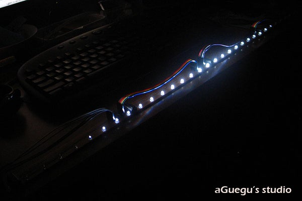 Extensible LED Beam