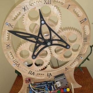 Planetary Gear Clock