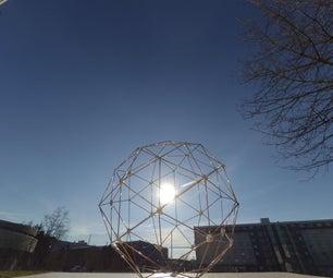 Making a Fully Welded Geodesic Sphere