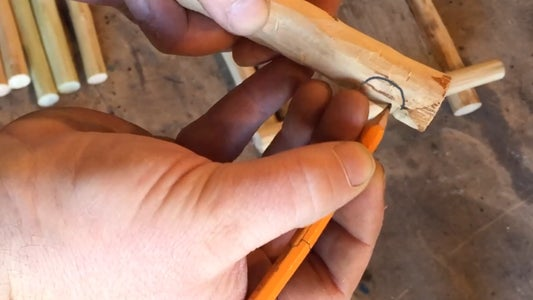 Cutting the Joints.