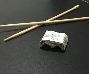 DIY Descanza Palitos Chinos / DIY Chopstick Rest