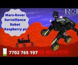 Mars Rover Using Raspberry Pi