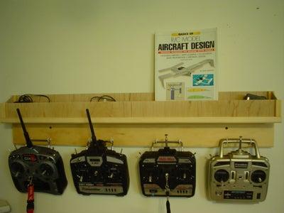 Radio Control Transmitter Rack