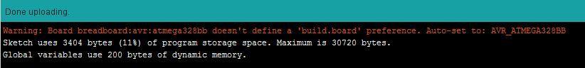 Configure Arduino IDE for Atmega 328P to Use 8MHz Internal Clock