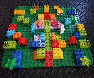 Lego Mirror Puzzle