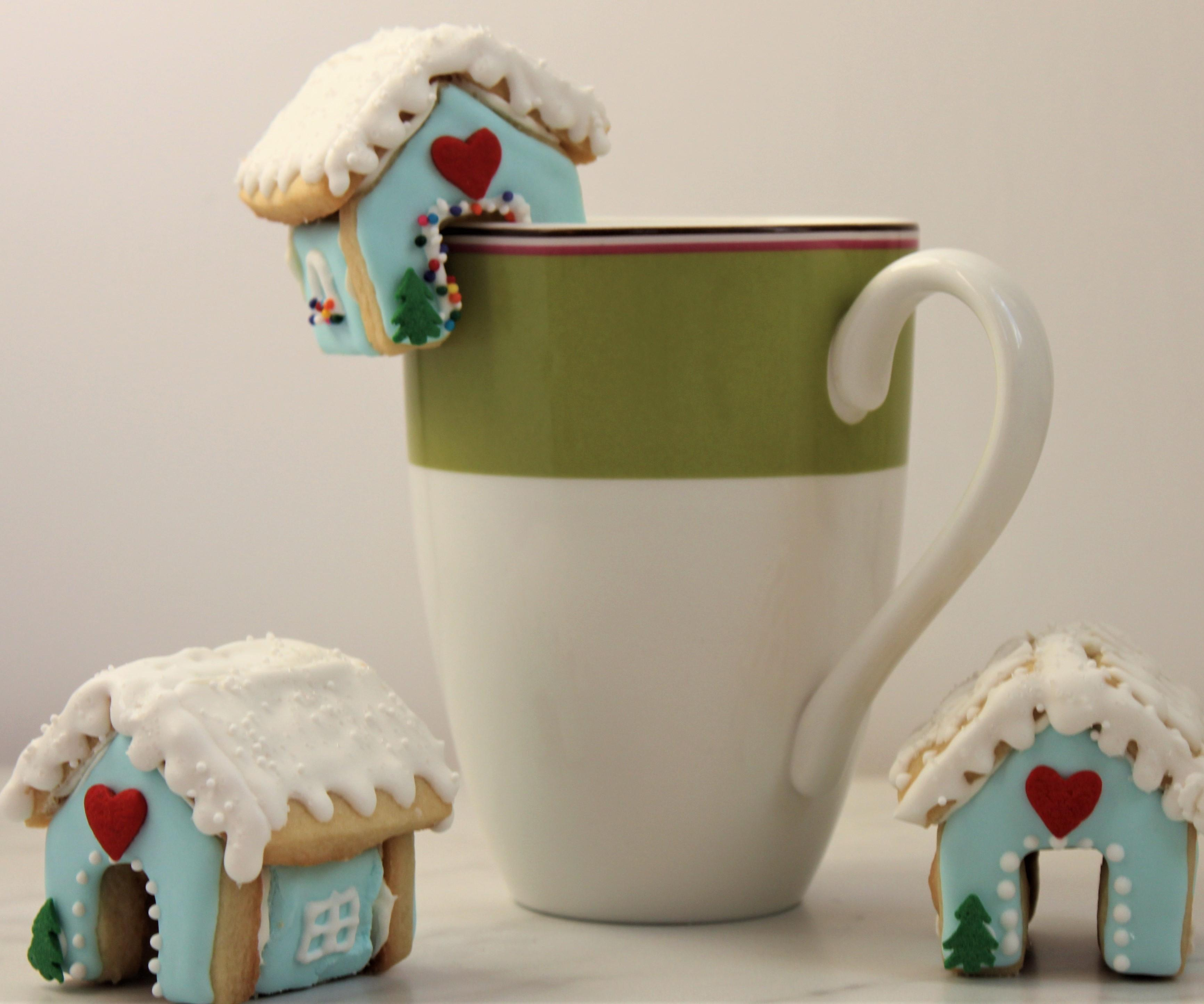 Sugar Cookie House Mug Toppers 9 Steps With Pictures Instructables