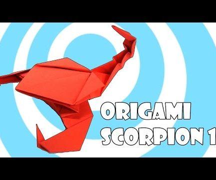 Origami Scorpion 1