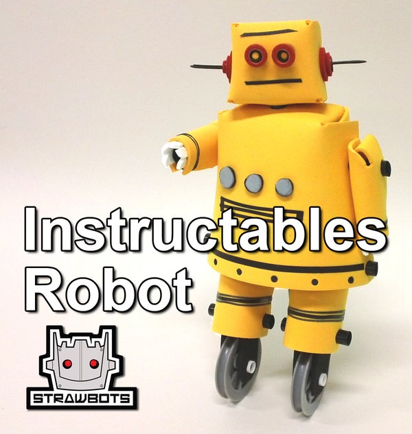 Strawbots: Instructables Robot