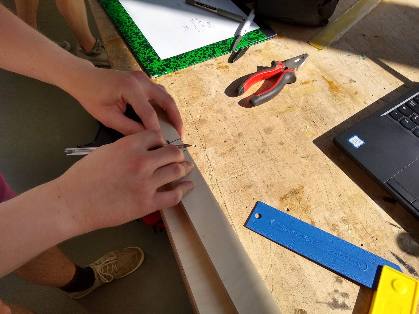 Step A2: Cutting the Cross Pieces