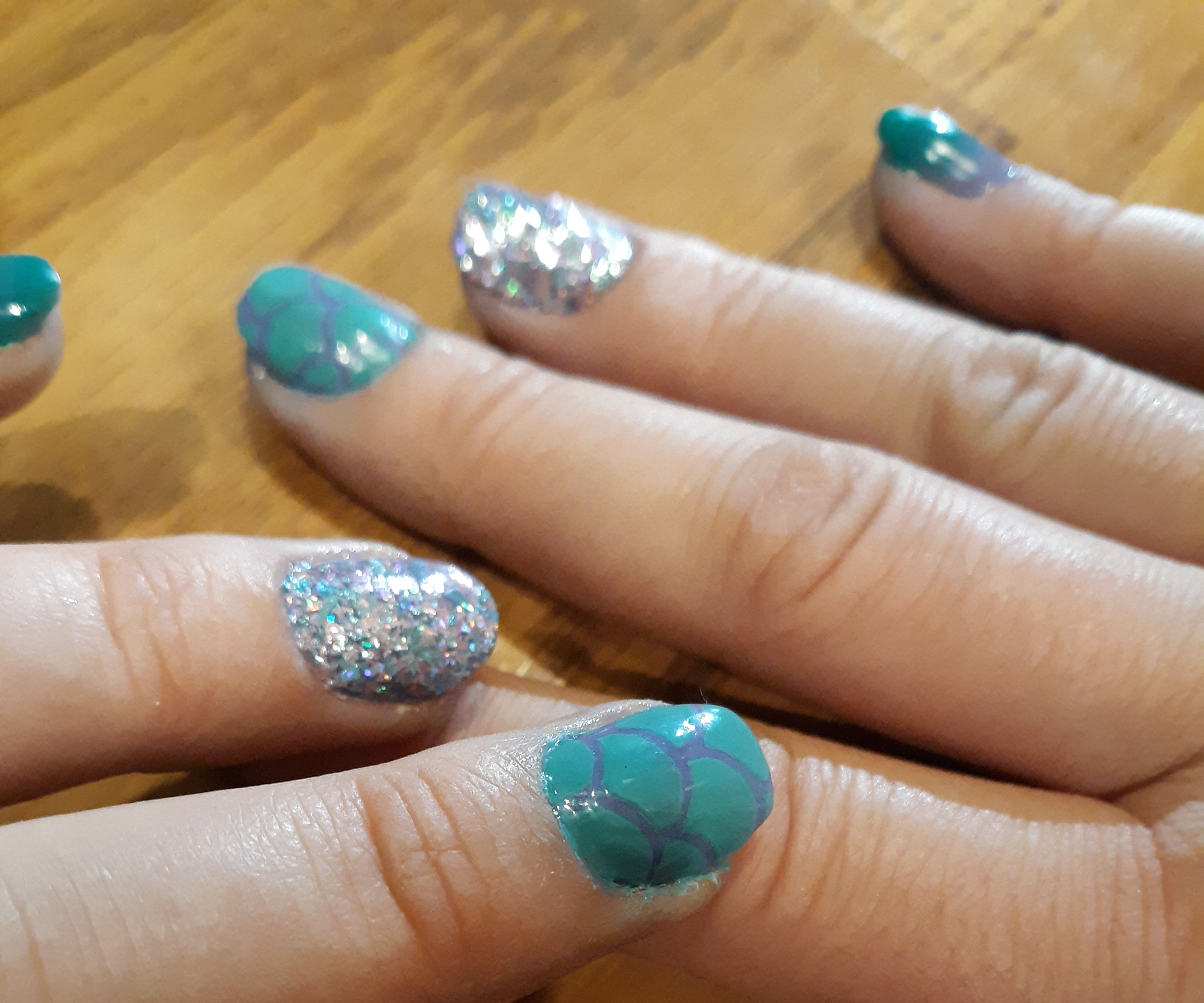 Dip Into a Mermaid Manicure!