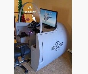 VR Cockpit Desk