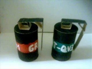How to Make FAKE Hand Grenades