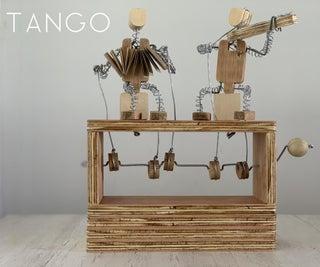 """""""TANGO"""" THE PLYWOOD AUTOMATA"""