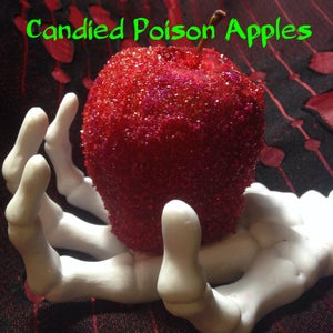 Candied Poison Apples