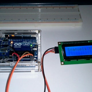Módulo Serial Para Display LCD Con Arduino