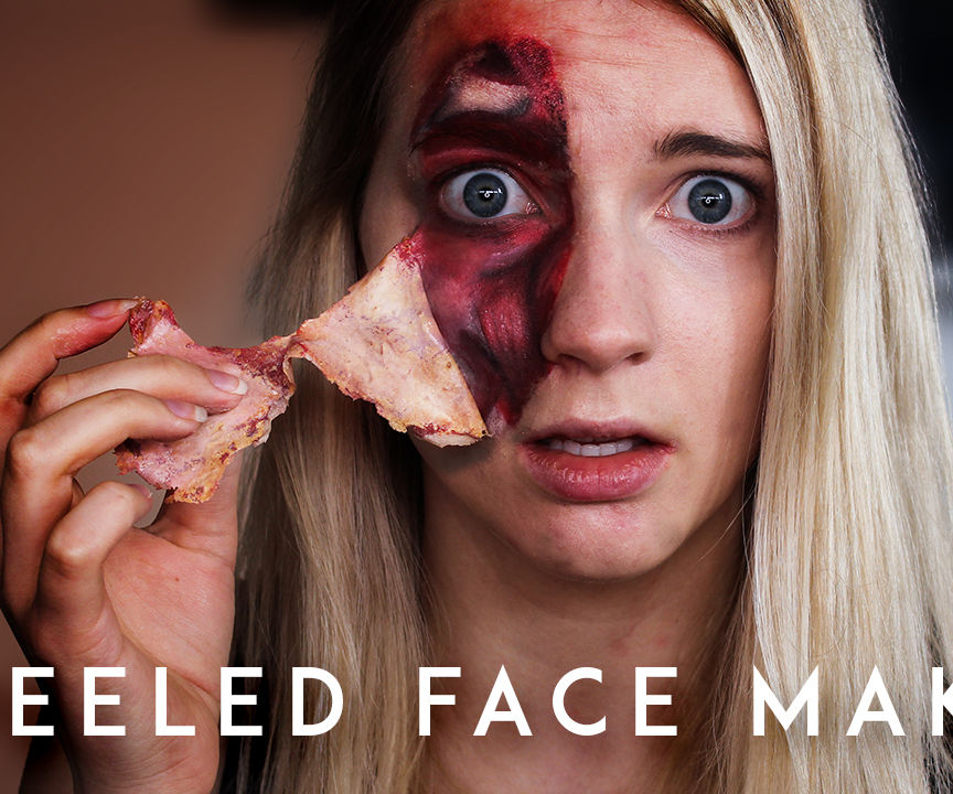 How to Peel Off Your Skin! (with Makeup)