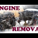 How to Remove a Car Engine and Transmission
