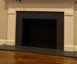 Fireplace/Slate Paint Update