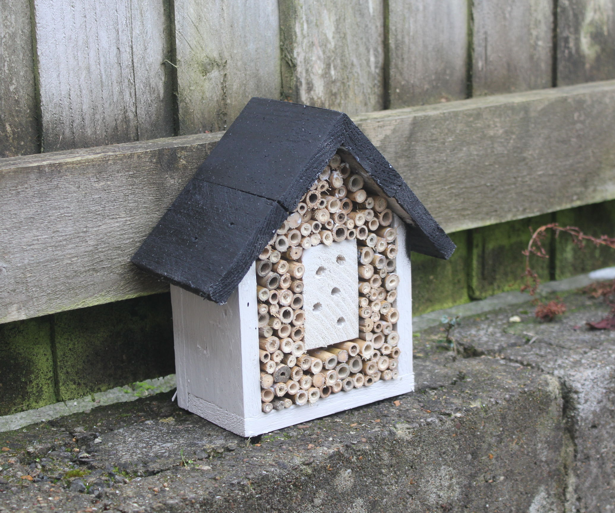 Build An Insect Hotel From Pallets